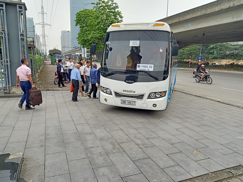 Thời gian xe tham quan Lạc Hồng Viên bắt đầu là 13h và kết thúc về lại Hà Nội là 16h30