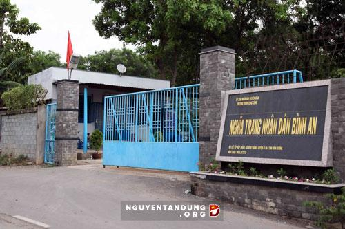 Nghĩa trang Nhân dân Bình An