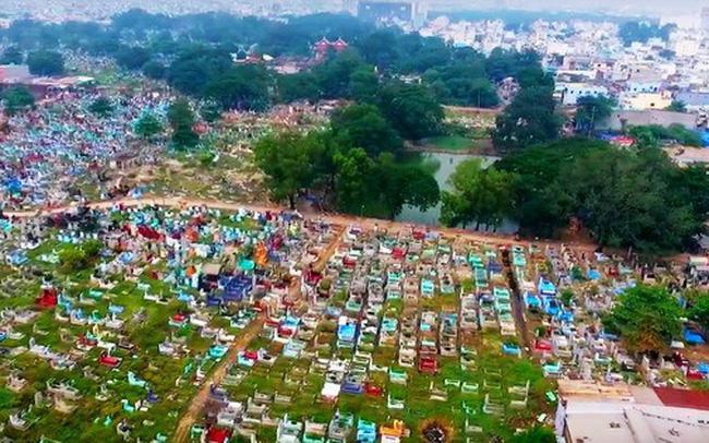 Sức chứa lớn của nghĩa trang nhân dân Bình Hưng Hòa