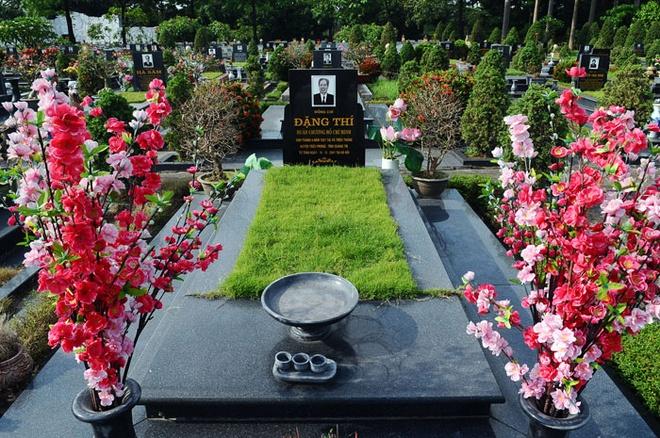 Phần mộ đồng chí Đặng Thi