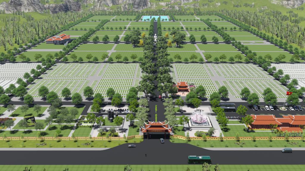 Công viên nghĩa trang ngay gần trung tâm thành phố