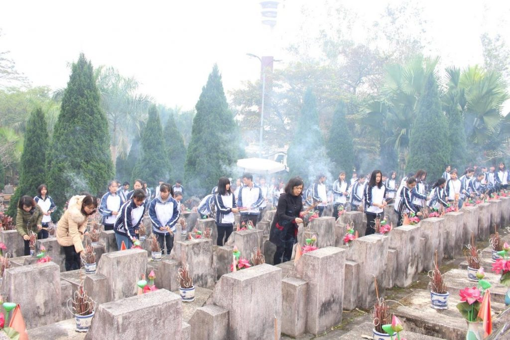 Nghĩa trang liệt sĩ Vị Xuyên – nơi tưởng niệm, biết ơn các anh hùng đã ngã xuống
