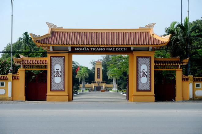 Nghĩa trang Mai Dịch tọa lạc ở Hà Nội