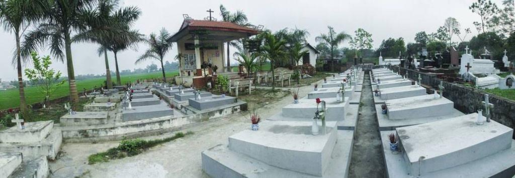 nghĩa trang thai nhi đồi cốc