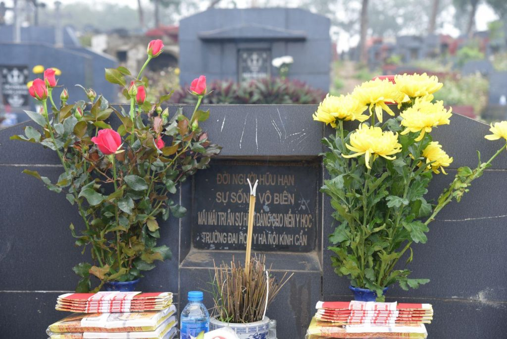 Nghĩa trang Yên Kỳ được nhiều người lựa chọn để mai táng người thân.