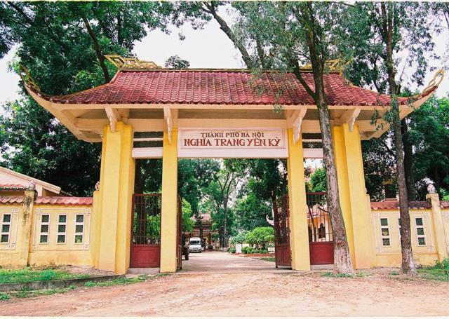 Nghĩa trang Yên Kỳ thuộc huyện Ba Vì, Hà Nội