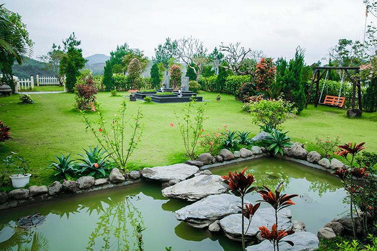 Giá đất nghĩa trang đồi Kim Quy Lạc Hồng Viên
