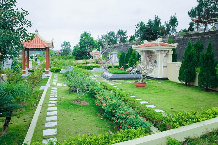 giá đất nghĩa trang đồi hỏa tại Lạc Hồng Viên