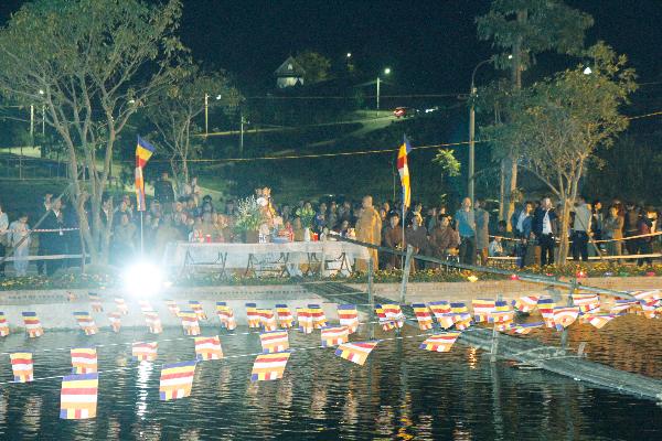 Đại lễ hô thần nhập tượng tại Lạc Hồng Viên