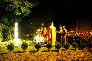 Lễ hô thần nhập tượng tại nghĩa trang Hòa Bình 2019