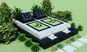 Mẫu mộ đá gnanite nghĩa trang lạc hồng viên
