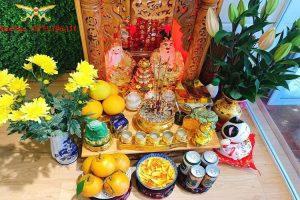 Cách bài trí bàn thờ Thần Tài Thổ Địa đúng chuẩn thu hút tài lộc