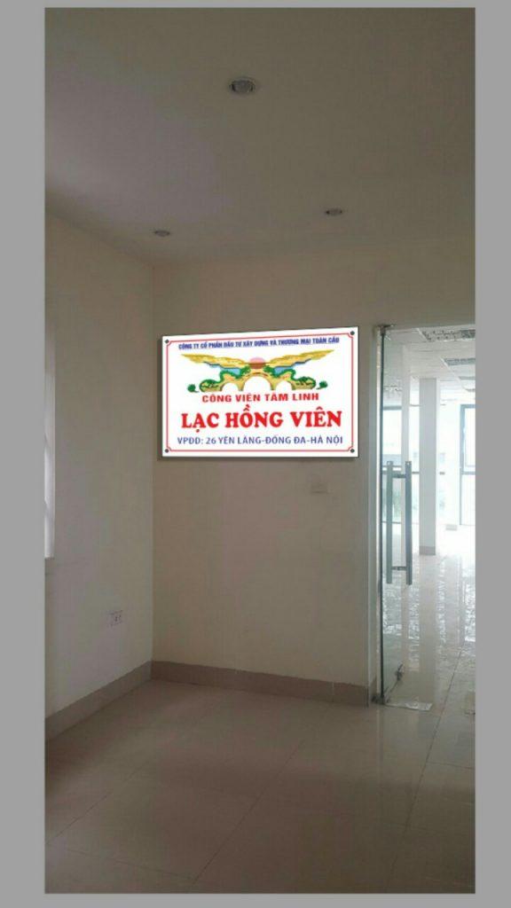 văn phòng đại diện Lạc Hồng Viên