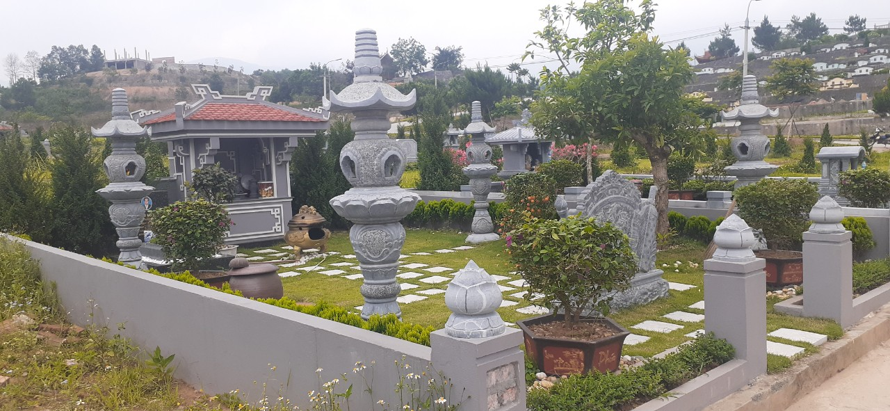 Khuôn viên 48m2 tại nghĩa trang Lạc Hồng Viên