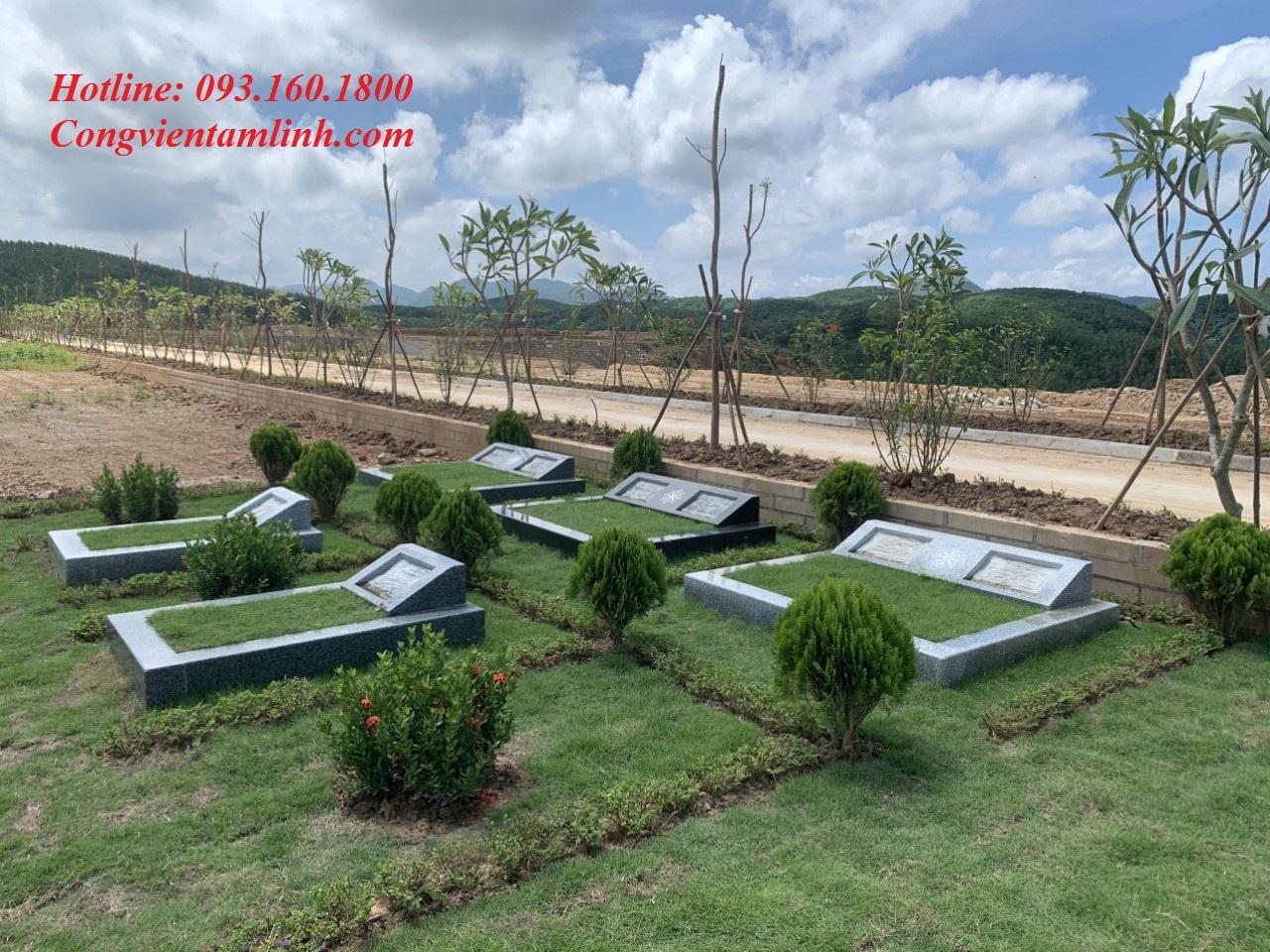 Giá đất mộ đơn - Đôi Nghĩa Trang Lạc Hồng Viên rất hợp lý