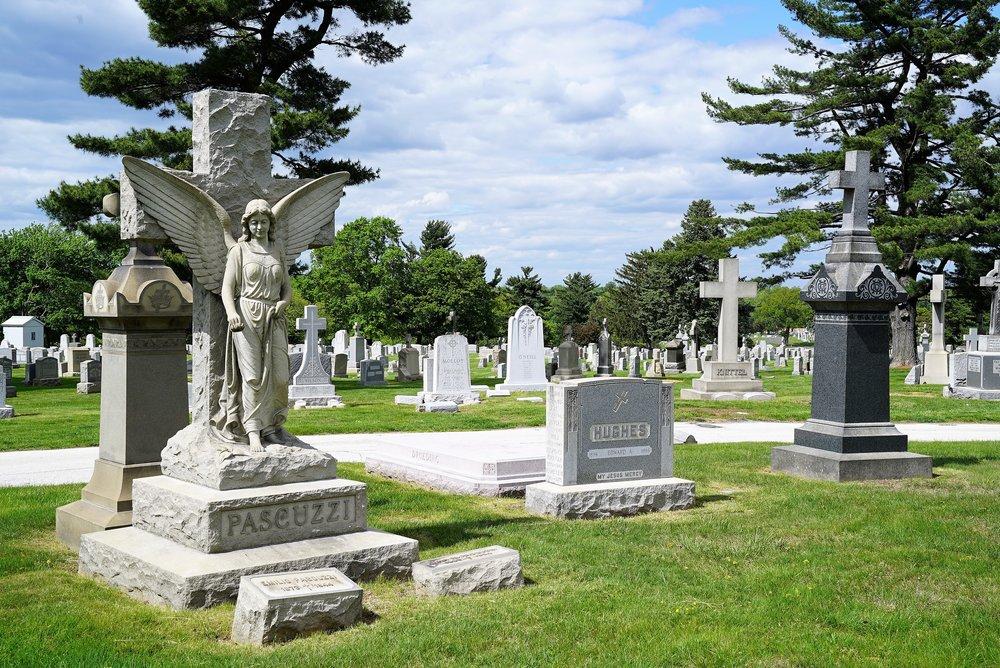 Các công trình tại nghĩa trang Holy Sepulcher