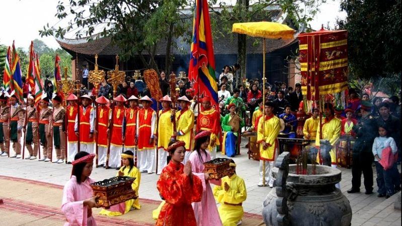 lễ hội đền thờ mẫu Tây Thiên