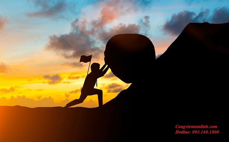 Quẻ Càn Vi Thiên thể hiện gắng sức để thành tựu