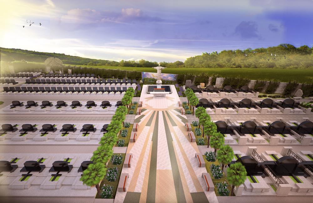 Phần mộ Công Giáo tại Nghĩa Trang Sài Gòn Thiên Phúc