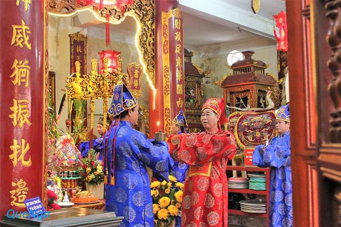 Lễ hội đền thờ Bà Chúa Kho