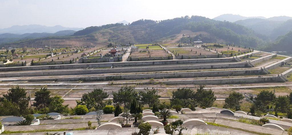 Khuôn viên đỉnh T1 đồi Thổ