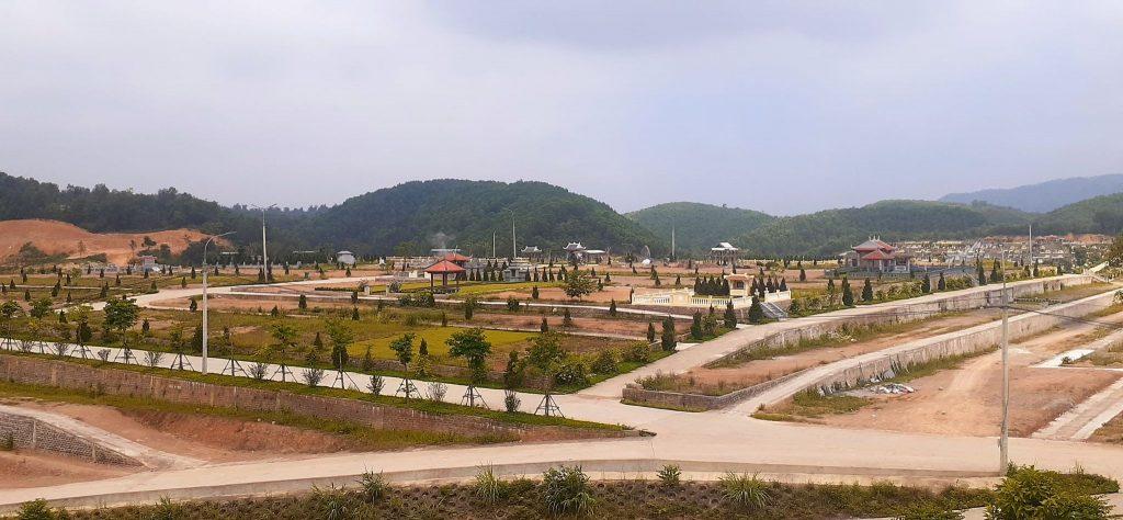 Khu vực đỉnh T1 đồi Thổ Nghĩa Trang Lạc Hồng Viên