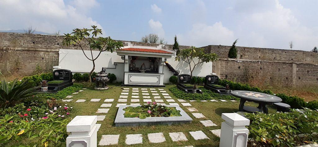 Khuôn viên 54m2 đồi thổ nghĩa trang Lạc Hồng Viên