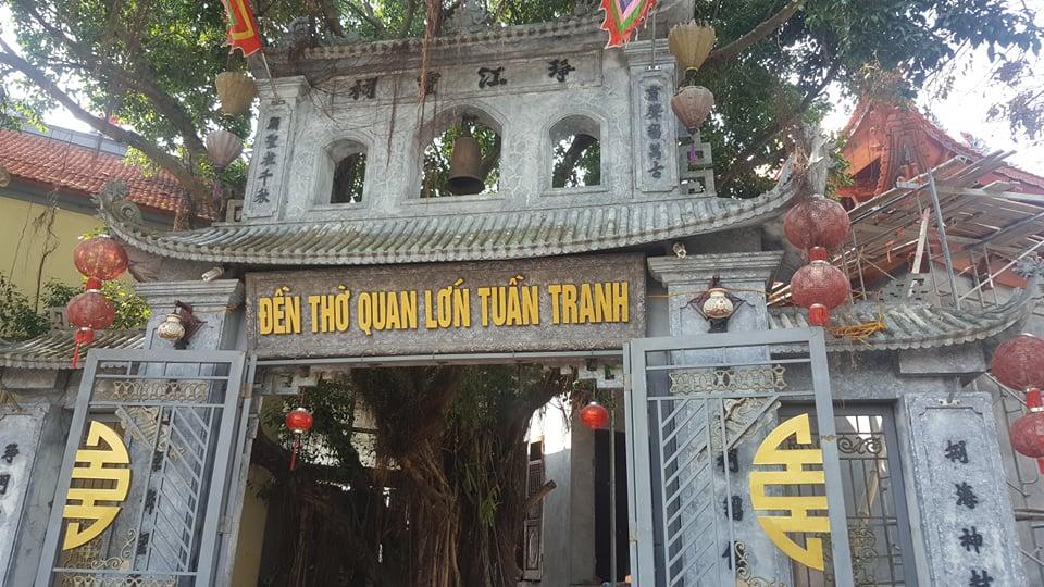 Đền thờ quan lớn Tuần Tranh tại Ninh Giang, Hải Dương