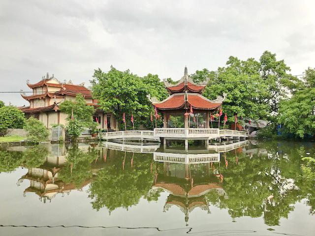 Đền thờ quan lớn đệ tam ở Hà Nam