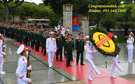 Thiếu tướng Trần Xuân Thu về an nghỉ tại Nghĩa Trang Lạc Hồng Viên