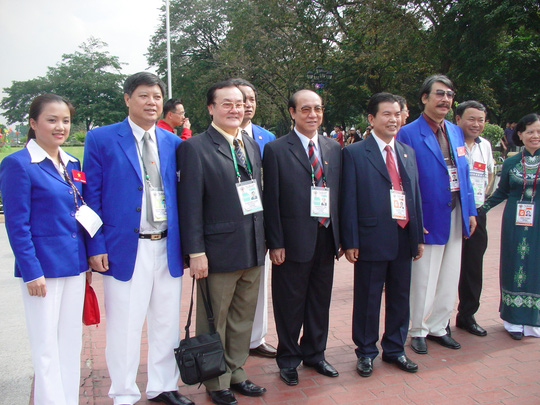 Pgs Ts Hoàng Vĩnh Giang là phó Chủ tịch Ủy ban Olympic Việt Nam