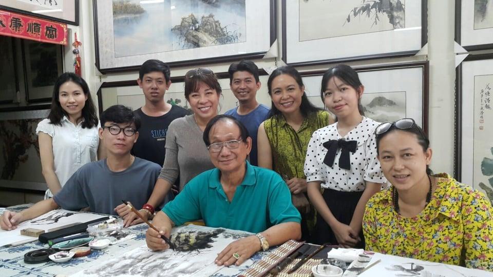Họa sĩ Nghệ Nhân Trương Hán Minh ra đi vào ngày 21/9/2021