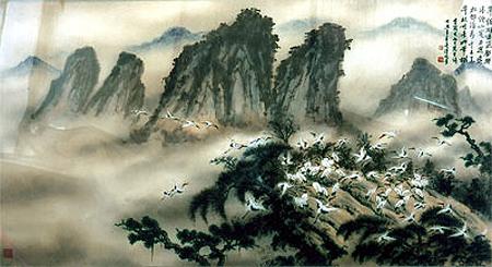 Tác phẩm của họa sĩ Trương Hán Minh